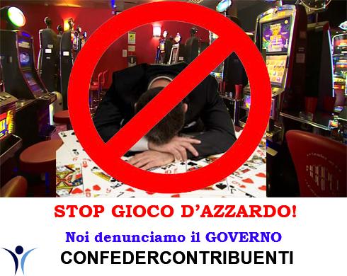 STOP GIOCO D'AZZARDO