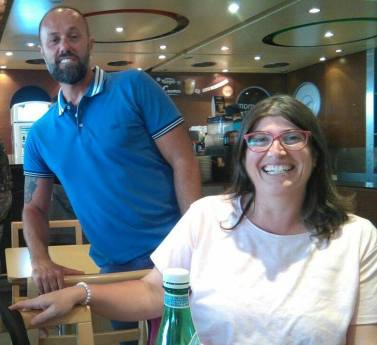 Simone Fiderigo Franci e Mariangela Palmisano