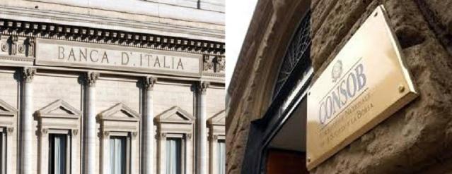 banca d'italia consob
